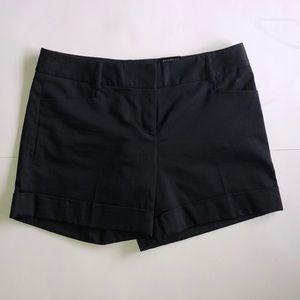 NWT Express Black Cuffed Shorts